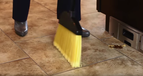 Floor, Flooring, Composite material, Material property, Household cleaning supply, Leather, Broom, Tile, Tile flooring, Cabinetry,