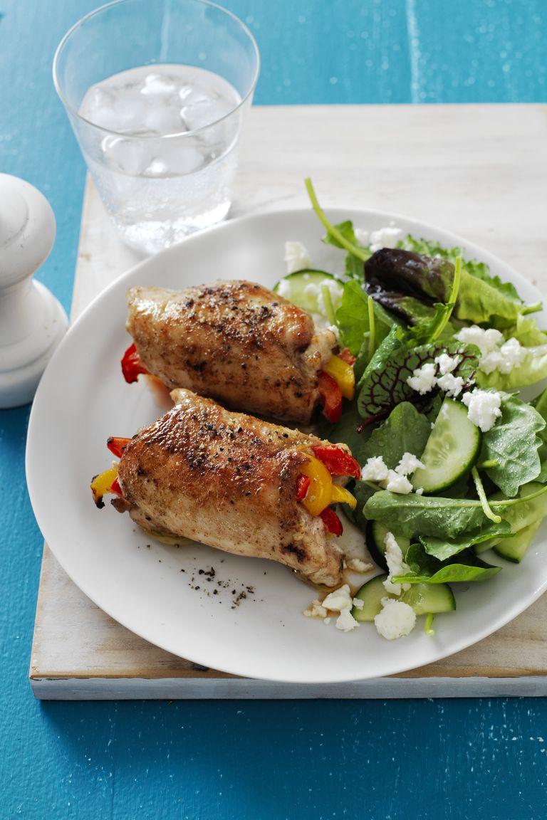 Fajita Chicken Roll-Ups | Easy Gluten-Free Dinners You'll Crave | Homemade Recipes