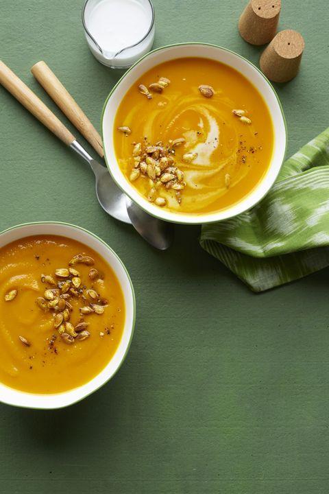 fall soups butternut squash soup
