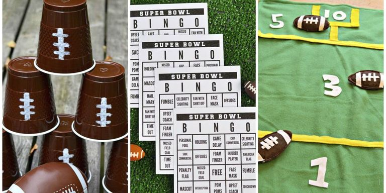 12 Super Bowl Party Game Ideas - Football Party Activities