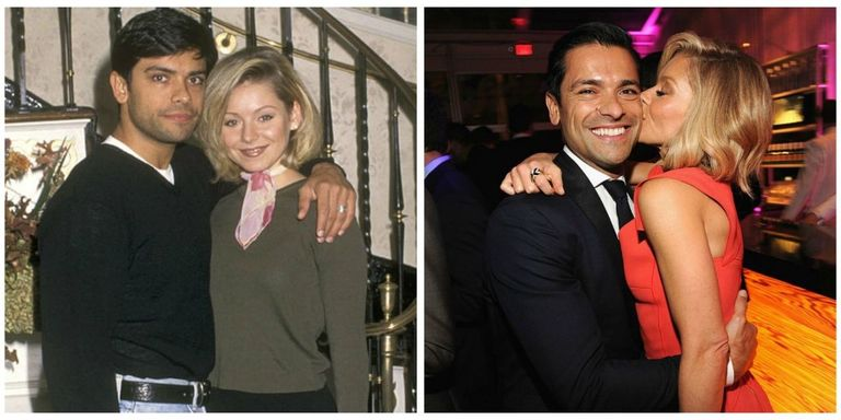 Kelly Ripa And Mark Consuelos Love Story How Kelly Ripa