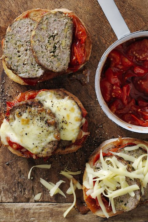 easy ground beef recipesTex-Mex Meat Loaf Sandwiches