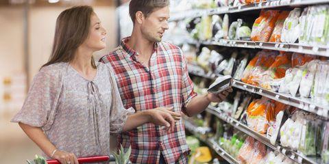 Retail, Plaid, Pattern, Tartan, Marketplace, Trade, Supermarket, Service, Grocery store, Customer,