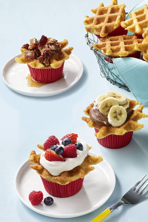 4th of july cakes and cupcakes  waffle cupcakes  easy cupcake recipes