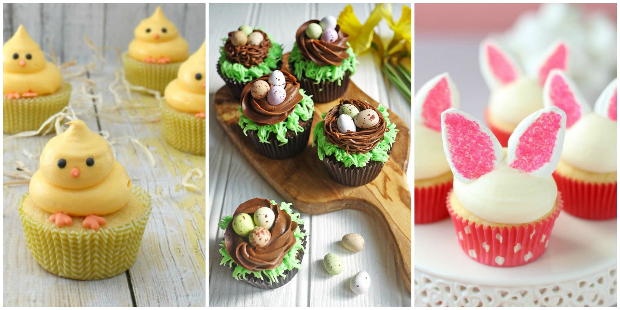 21 Cute Easter Cupcakes Easy Ideas For Cupcake Recipes