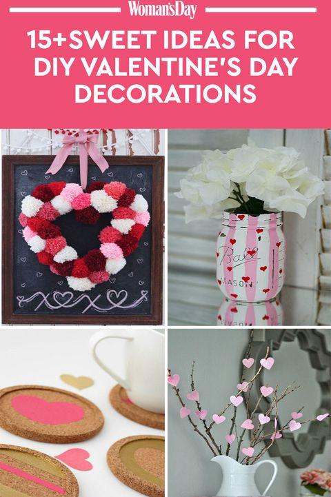 23 Diy Valentine S Day Decorations Easy Valentines Day