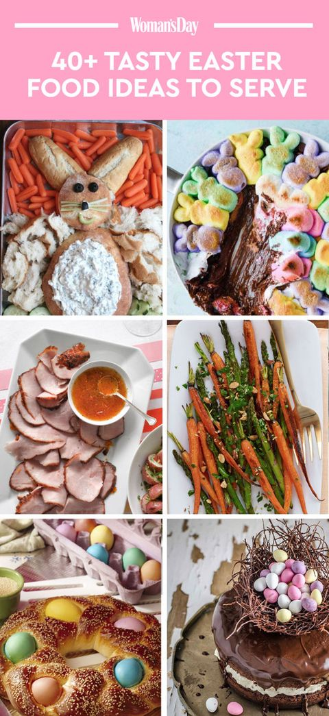 easter food ideas easy easter recipes