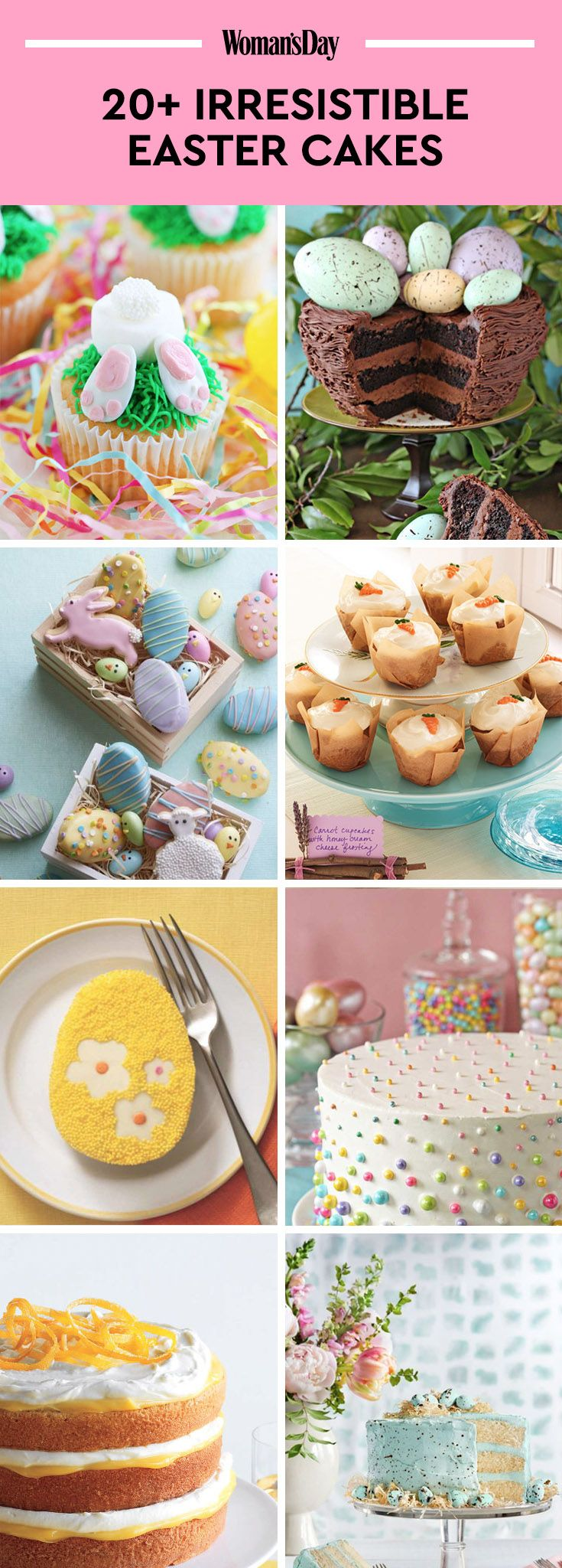 37 Best Easter Cakes Ideas And Recipes For Cute Easter Cakes
