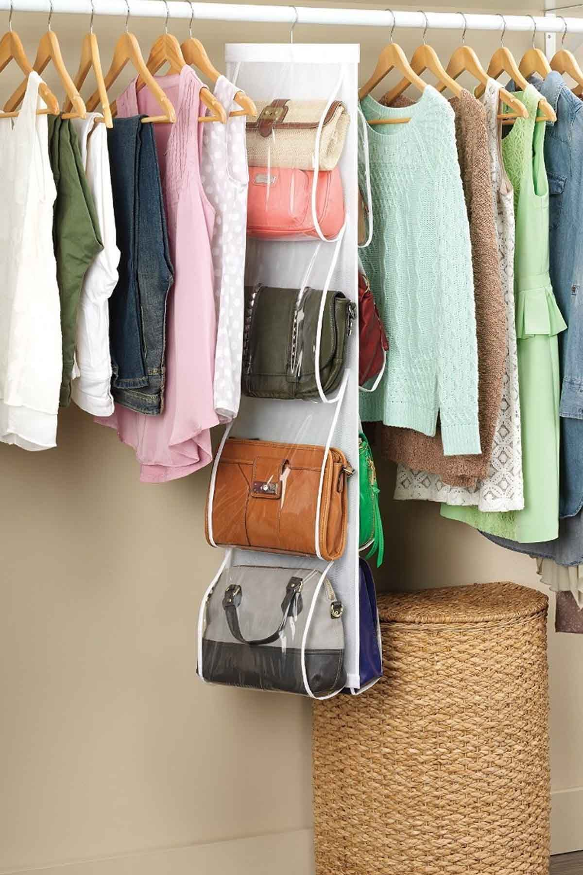 Clothes Closet Organization Ideas Part - 23: 24 Best Closet Organization U0026 Storage Ideas - How To Organize Your Closet -  WomansDay.com