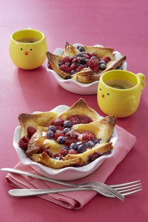 kid friendly breakfast recipes  french toast bowls
