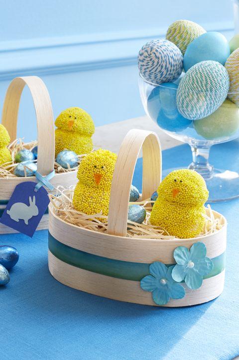 spring chicken donut holes -Easter Desserts