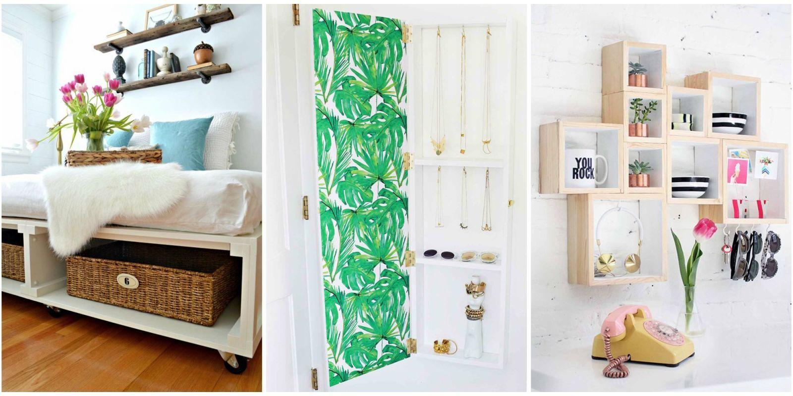 Delightful Bedroom Organization Ideas