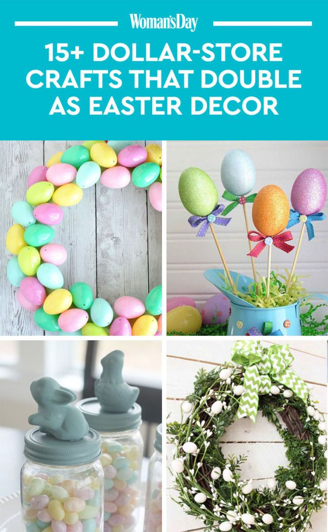 easter day crafts ideas 15 dollar crafts that as easter decor 4318