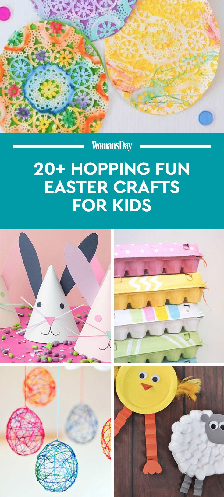 20 fun easter crafts for kids easter art projects for toddlers 20 fun easter crafts for kids easter art projects for toddlers and preschoolers jeuxipadfo Images