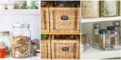 15 Pantry Organization Ideas - How to Organize a Kitchen Pantry