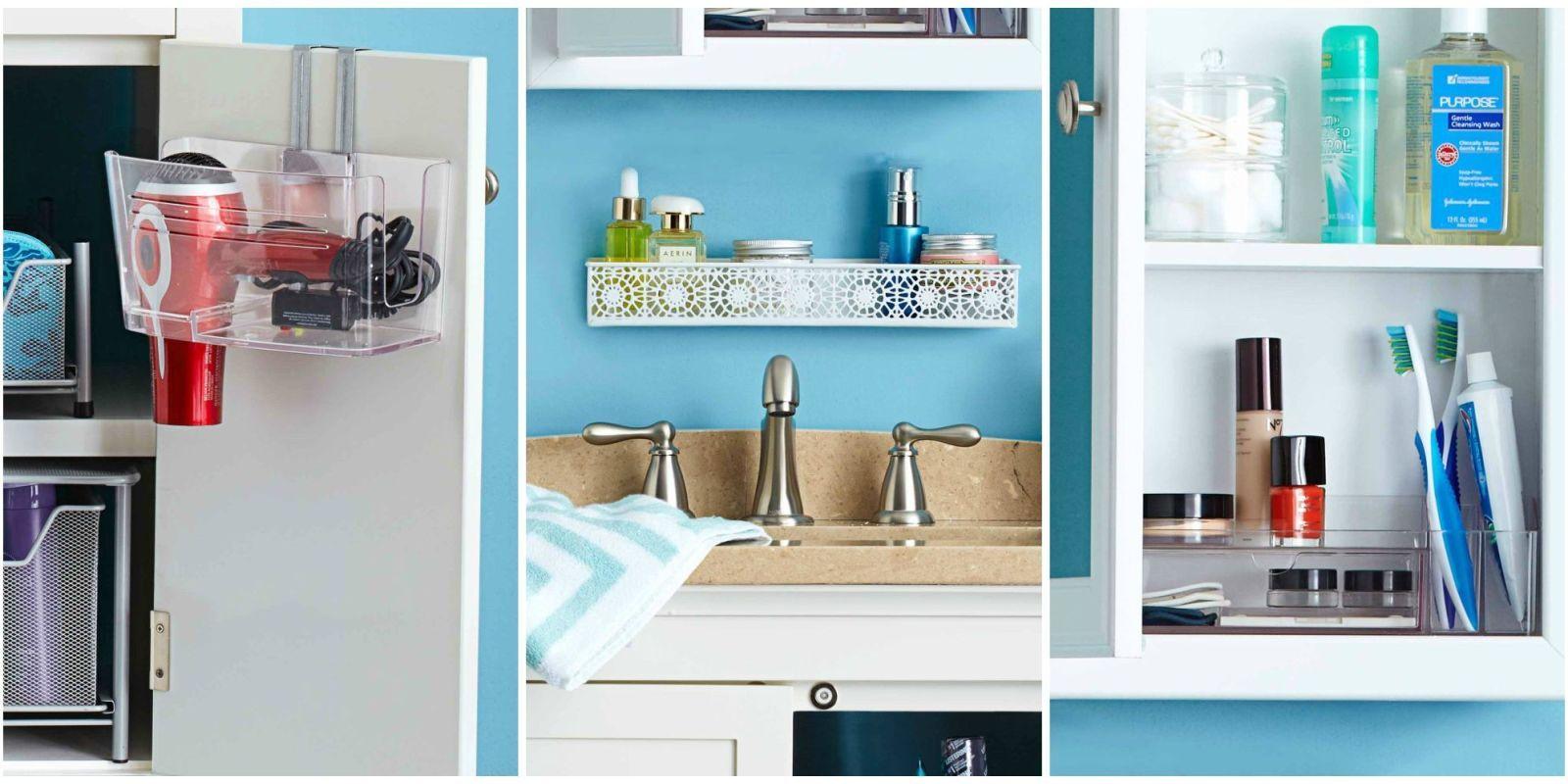 Elegant Bathroom Organization Ideas