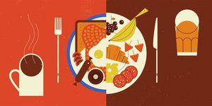 healthy unhealthy foods