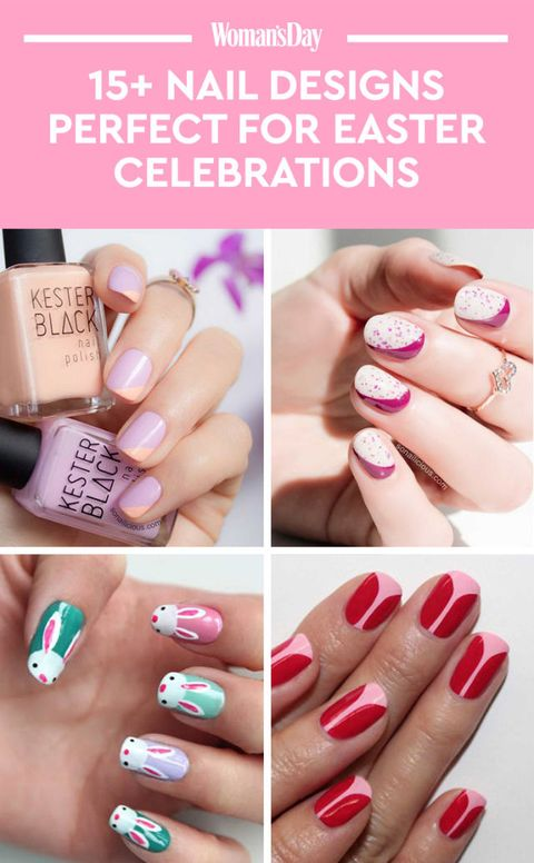 Image Save These Ideas Easter Nail Designs