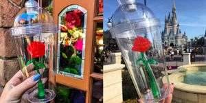 Enchanted Rose Cup at Disneyland
