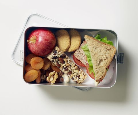 Dish, Food, Meal, Lunch, Cuisine, Ingredient, Food group, Apple, Produce, Platter,