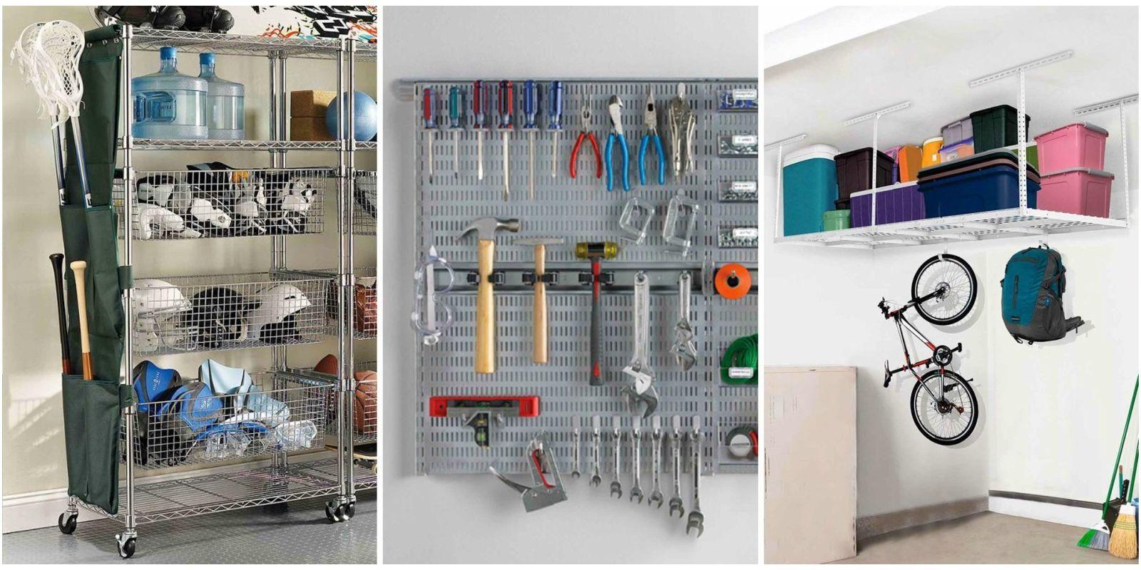 Bon Garage Organization Ideas