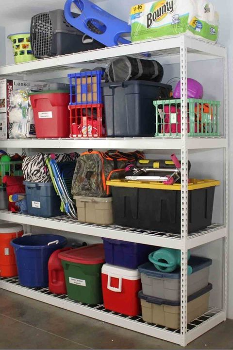 garage organization ideas - Categorize your items