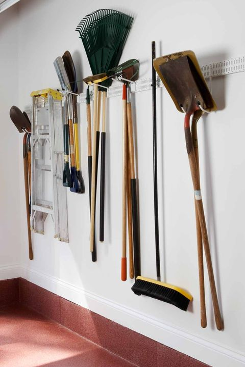 Garage Organization Ideas Gardening Tools