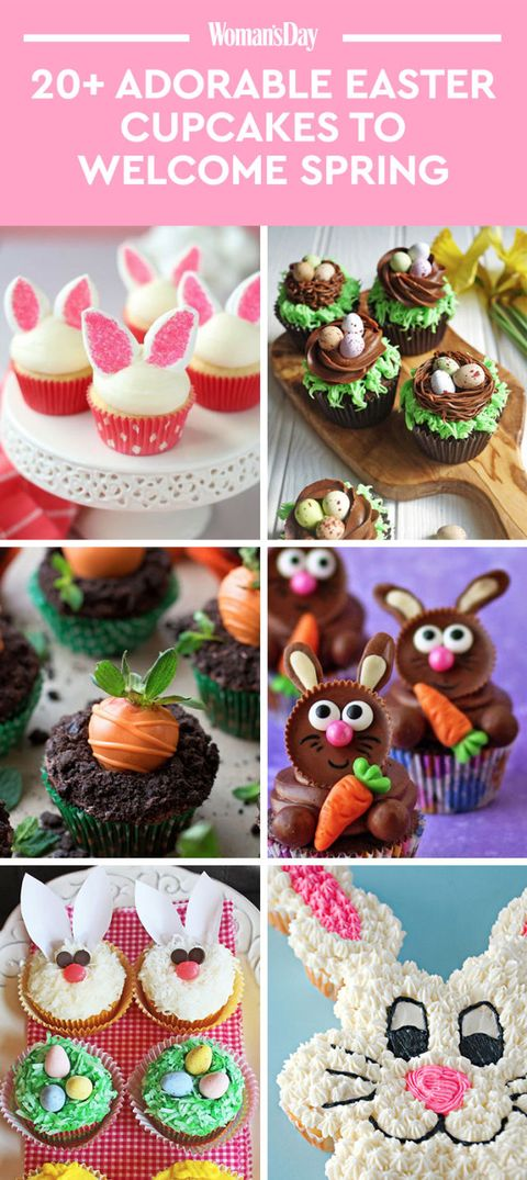 easter cupcakes - easter cupcake recipes