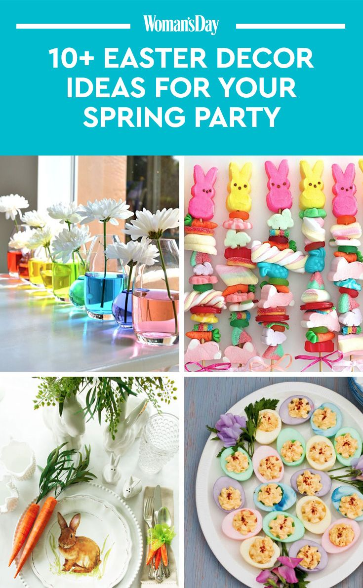 14 pretty easter party ideas — decorations for an easter celebration