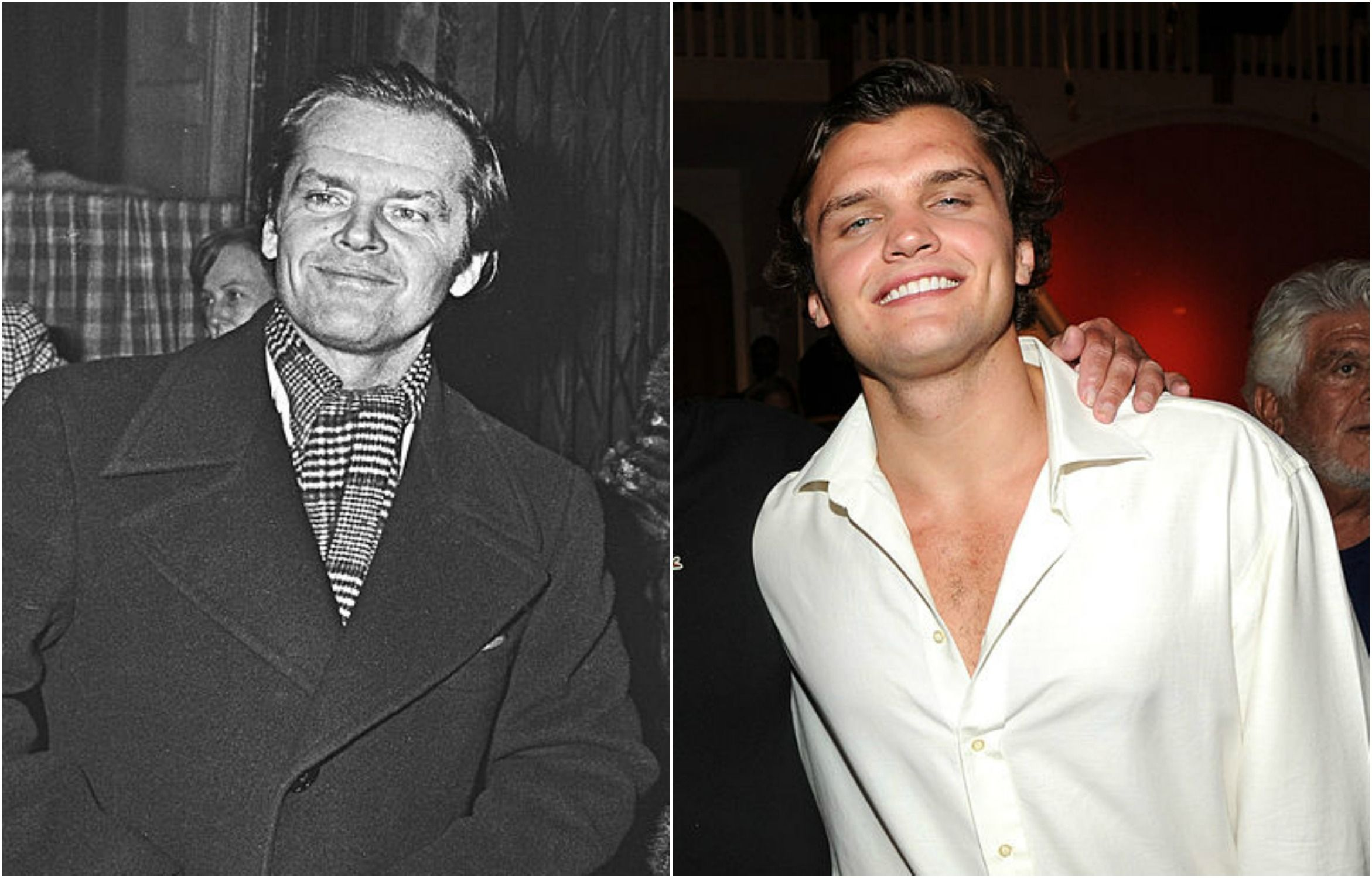 Jack Nicholson Son Celebrity Lookalikes The best actor twice, for one flew over the cuckoo's nest and as good as it gets. jack nicholson son celebrity lookalikes
