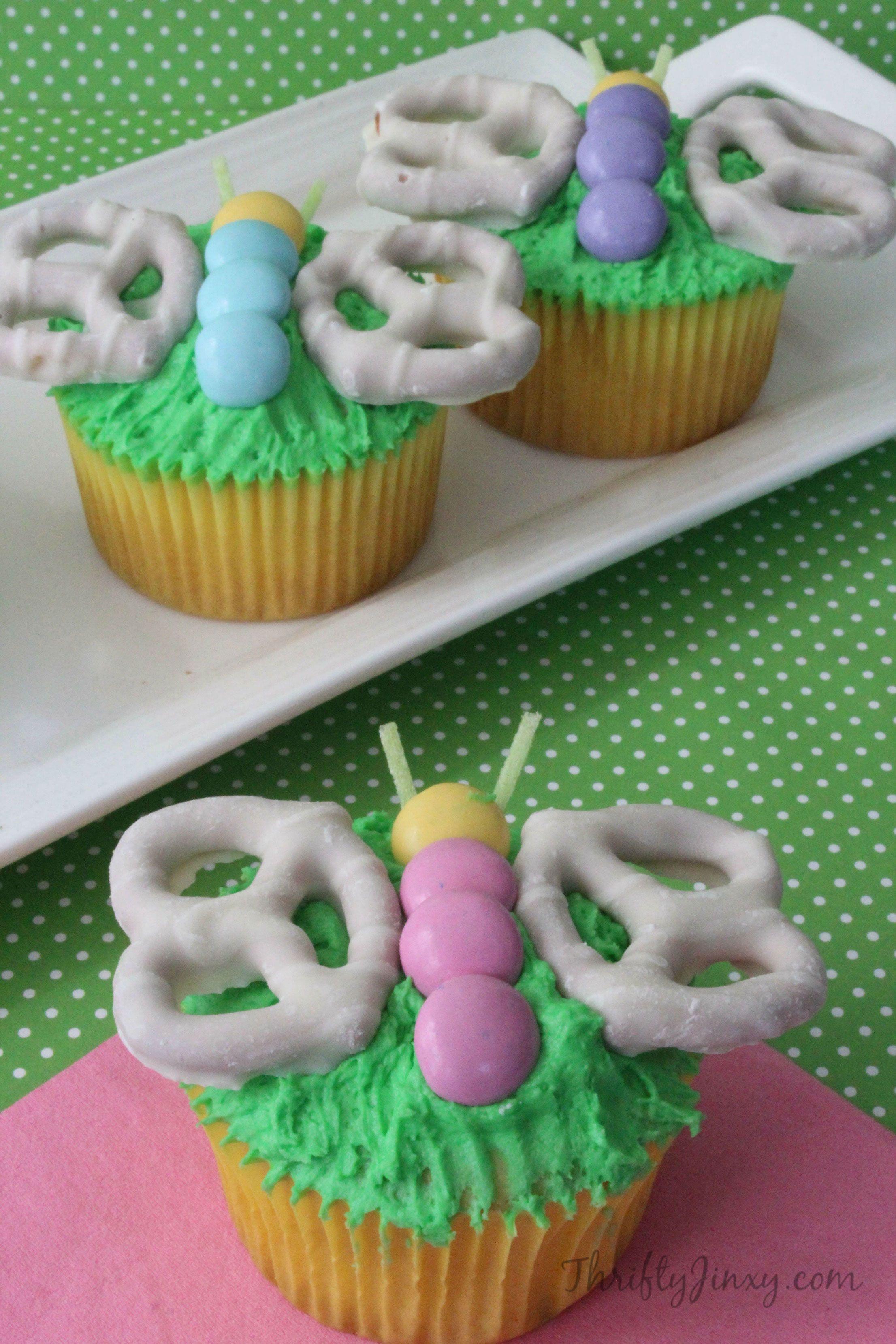 20+ Easy Spring Cupcake Ideas - Decorating Cute Spring Cupcakes u0026 Recipes & 20+ Easy Spring Cupcake Ideas - Decorating Cute Spring Cupcakes ...