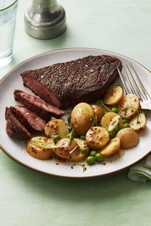 gluten free dinner - Seared Steak and Potato Salad