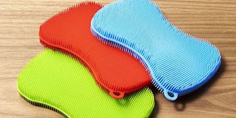 Footwear, Textile, Crochet, Font, Mat, Personal protective equipment, Knitting, Floor, Electric blue, Shoe,