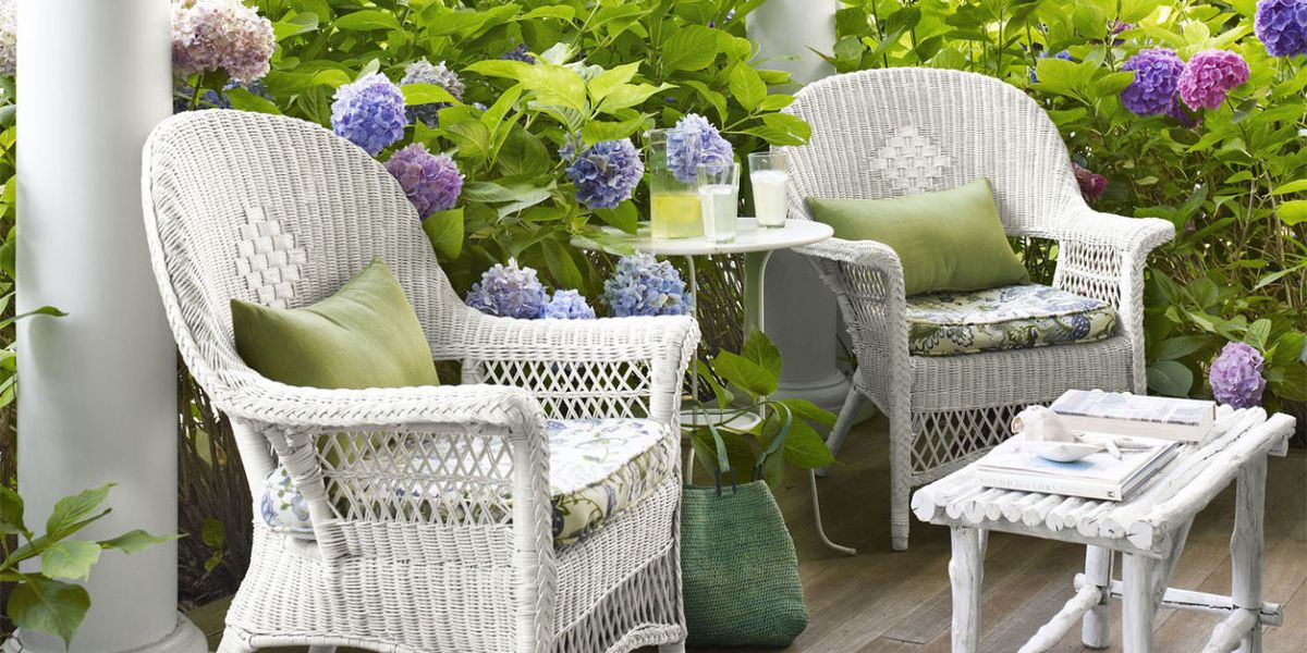 How To Clean Wicker Furniture, How To Clean White Wicker Outdoor Furniture