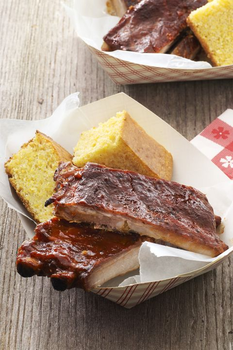 pressure cooker barbecue ribs -picnic foods