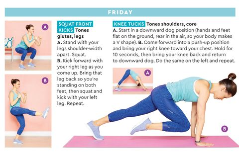 2 week workout routine for women  easy exercise ideas