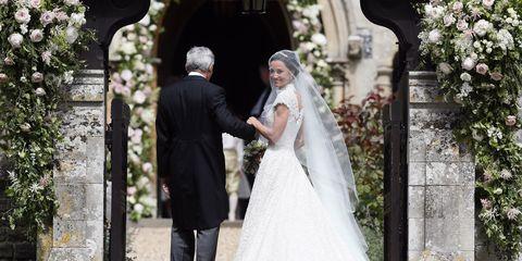 Wedding dress, Bride, Photograph, Veil, Gown, Bridal clothing, Dress, Ceremony, Bridal veil, Wedding,