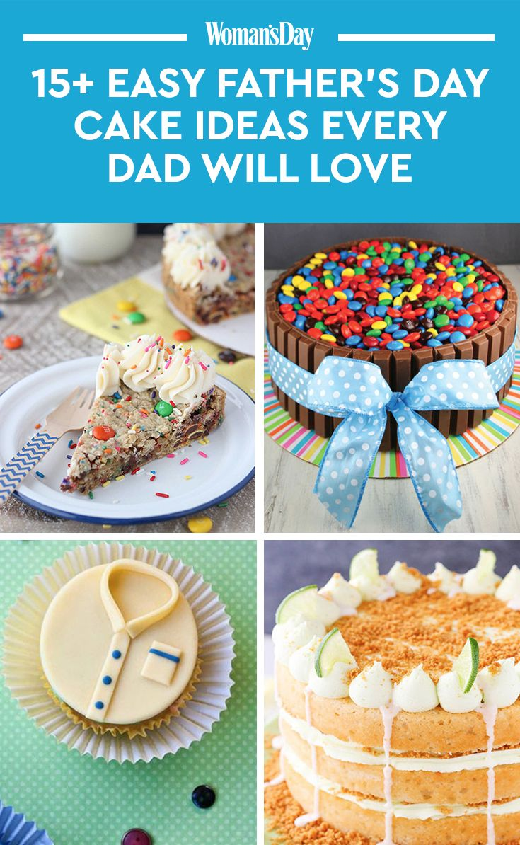 28 Best Fathers Day Cake Recipes Ideas
