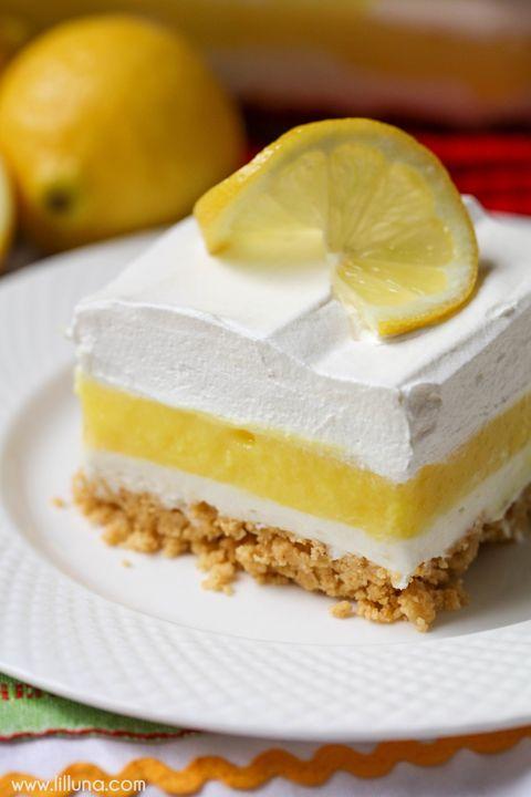 10 Easy Lemon Desserts - Best Recipes for Lemon Dessert Ideas