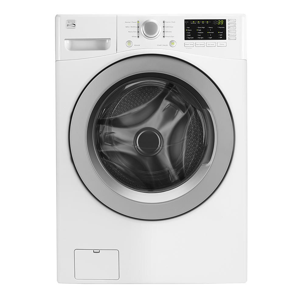 Washing Machines 2017: Kenmore Front-Load Washers in White