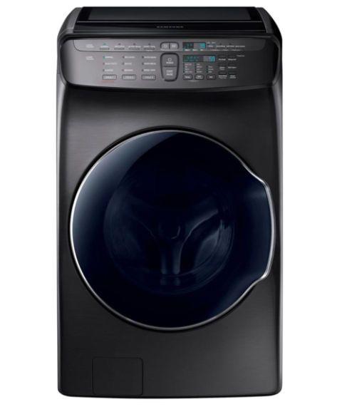 Best Washing Machines 2017: Samsung  FlexWash Washing Machine in Black Stainless Steel 2018