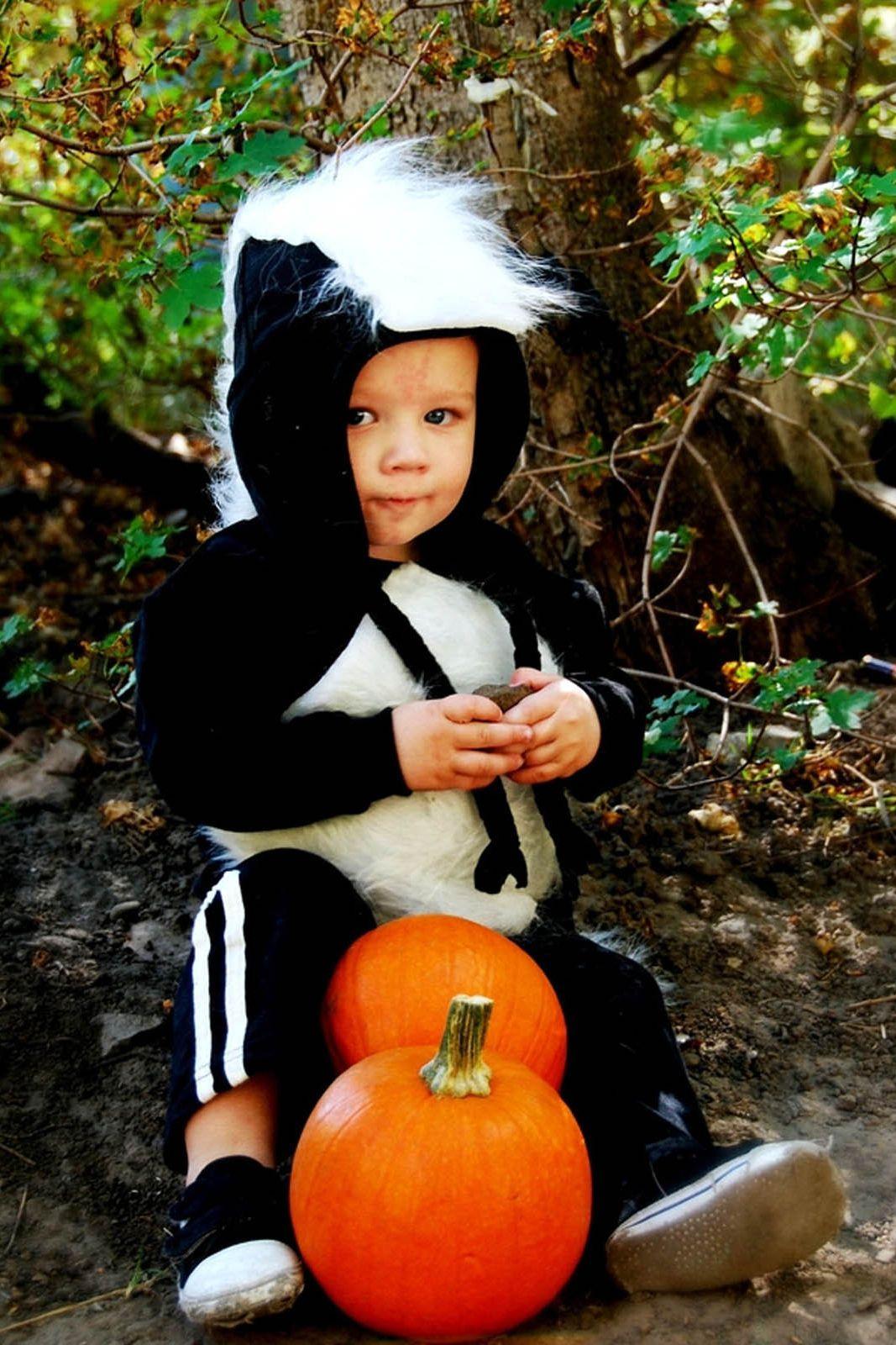 Baby Skunk Costume Halloween | 27 Cute Baby Halloween Costumes 2018 Best Ideas For Boy Girl