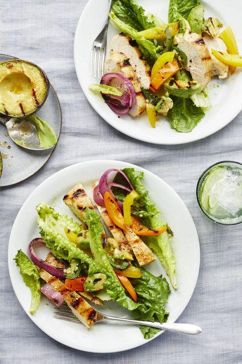 Best Chicken Fajita Salad With Lime Cilantro Vinaigrette Recipe