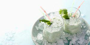 probiotic kefir drink