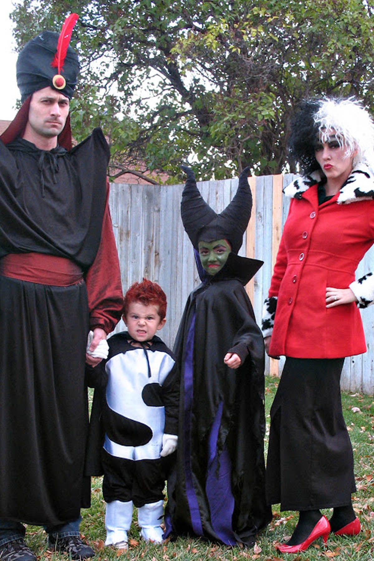 Disney Villains Family Halloween Costumes