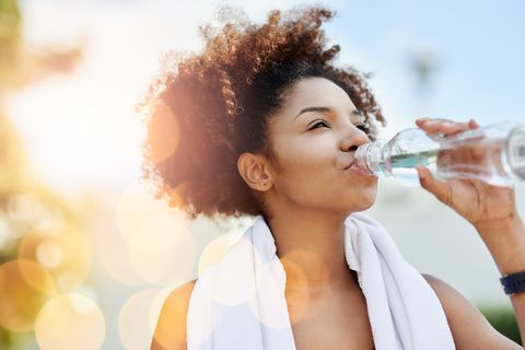 how to lose water weight - drink more water