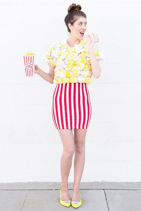 poppin popcorn halloween costume for adults