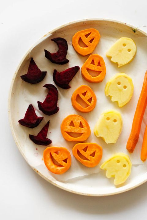 halloween roasted veggies