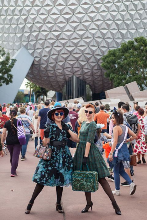 Dapper Day at Epcot