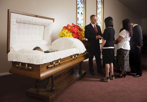 funeral etiquette rules
